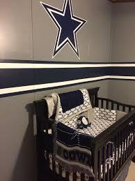 dallas cowboys baby room decor decoration