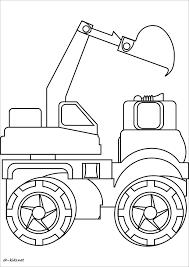 Coloriage De Tracteur Frais Un Coloriage Sélection De Dessins De