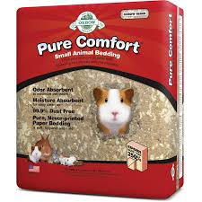 Pine Bedding For Guinea Pigs by Pure Comfort Small Animal Bedding 16 4 L