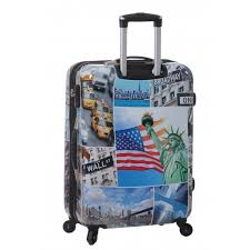 valise rigide 70 cm à 4 roues new york snowball