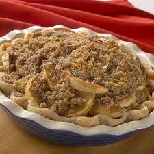 Streusel Layered Apple Pie