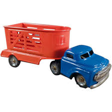 Vintage Tin Toy Truck With Horse Trailer - Small Scale Japanese Tin ... Toy Matchbox Prime Mover Thames Trader M7 For Jennings Cattle Amazoncom Mack Log Trailer Diecast Replica 132 Scale Assorted Extreme Semi Truck Hauling 8 Monster Cars Friction Powered Vintage Nylint U Haul Ford Pick Up And Ardiafm Wyatts Custom Farm Toys Trailers Velocity Offroad Ready Daron Ups Die Cast Tractor With 2 Games Off Road Police Transporter Childrens Model Of Oil Tank Stock Photo Image Of Articulated Personalised Eddie Stobart Oxendales Handmade Wooden Flatbed Green Ecofriendly Alloy Children Car Models 1613 Yacht