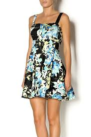 ixia black floral dress from california by mp couture u2014 shoptiques