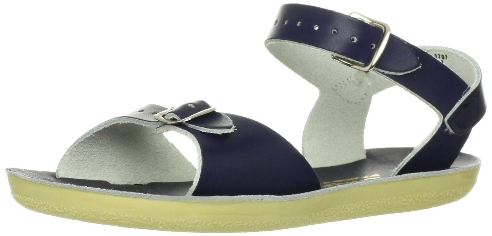 Sun-san Saltwater Surfer Infant Slingback Sandal - Blue, 4 US