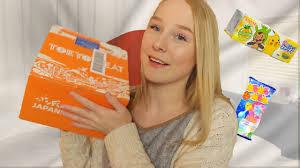 100 Dessa Dutch DUTCH GIRL TRYING JAPANESE CANDY YouTube
