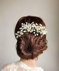 Babys Breath Hair Vine Rustic Piece Bridal Boho Head Flower Wedding Woodland