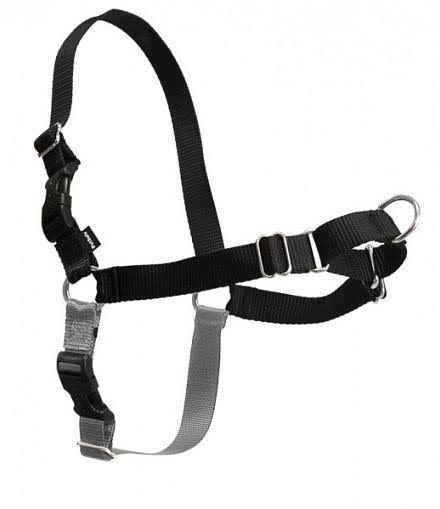 PetSafe Easy Walk Harness - Black/Silver, Small/Medium