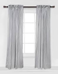 amazon com bacati grey pin stripes curtain panel baby