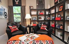 Harley Davidson Room Eclectic Home Office