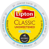 Lipton Unsweetened Keurig Kcup Tea Pods