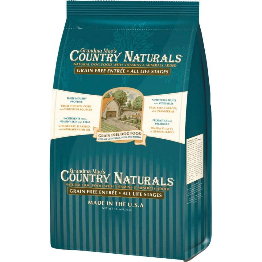 Grandma Mae's Country Naturals Grain Free Dog Food - 28lbs