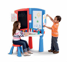 Step2 Art Easel Desk by Amazon Com Little Tikes 2 In 1 Art Desk U0026 Easel Toys U0026 Games