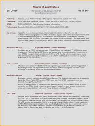 Beautiful Sample Resume Template