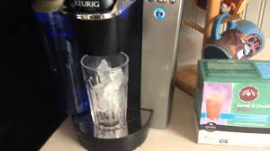 How To Make Brew Ice Coffee In Keurig K Cup Brewer Maker
