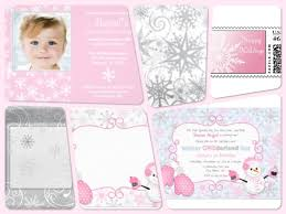 Winter Wonderland 1st Birthday Invitations And Get Inspired To Create Your Own Invitation Design With This Ideas 4