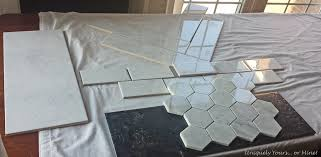 choosing the shower tile i need help uniquely yours or mine