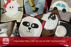 Paper Plate Craft Activities For Preschoolers