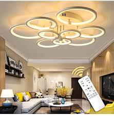 großhandel weiß schwarz moderne led kronleuchter glanz für wohnzimmer licht schlafzimmer esszimmer acryl decke kronleuchter beleuchtung leuchte