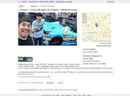 Deadmau5 Selling The Purrari | Autofluence Sport Utility Vehicle Simple English Wikipedia The Free Cash For Cars Richmond Ca Sell Your Junk Car The Clunker Junker Cabt Stretch Truck Company Upfitter Lovely Craigslist Honda Accord Sale By Owner Civic And Ky Used 2012 Harley Davidson Motorcycles Sale Become On Houston Tx And Trucks For By Awesome In Theres An Adorable Nissan Figaro Import In Virginia Qotd What Fun Under Five Thousand Dollars Would You Buy Modern Way We Put Seven Services To Test