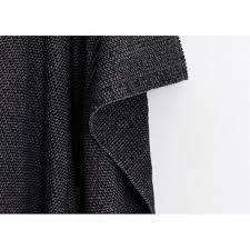 plaid noir pour canapé plaids en coton de qualité originaux aux motifs et couleurs