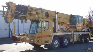 100 Service Truck With Crane For Sale Grove TMS870B 70ton Telescopic Boom Material