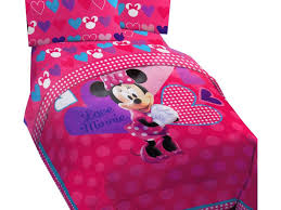 Minnie Mouse Room Decorations Walmart by Minnie Mouse Toddler Bed Set Disney Minnie Mouse Room In A Box