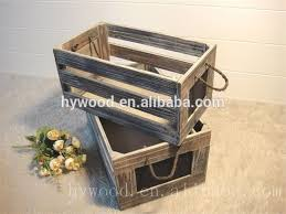 Supply Custom Export Rectangular Wooden Milk Crateswood Friut Storage Boxes For Sale