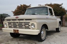 100 1964 Ford Truck Beige Beauty A 60000 Mile F100 Scom