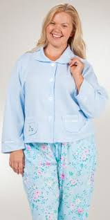 Chenille Bed Jacket by Plus Robes U0026 Bed Jackets Serene Comfort