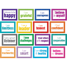 TCR5099 Positive Posters Bulletin Board Display Set Image