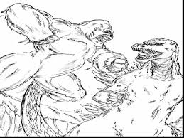 Surprising King Kong Vs Godzilla Coloring Pages With And