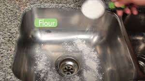 Kitchen Sink Stinks Any Suggestions 3 ways to clean a kitchen sink wikihow
