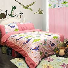Buy FADFAY Home Textile Dinosaur Bedding Sets Anime Bed Sheets Set