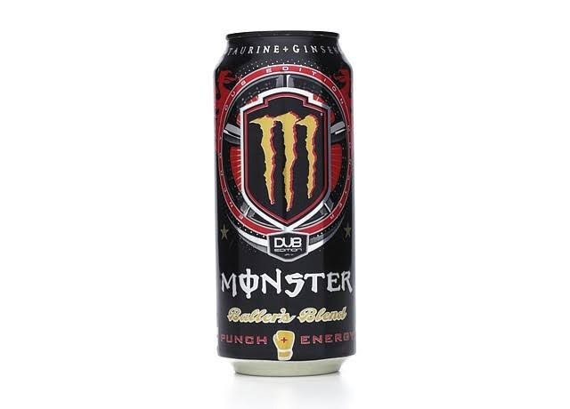 Monster Energy Dub Edition Energy Drink - Baller's Blend, 16oz