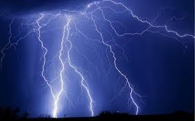 Lightning Storm Background 6