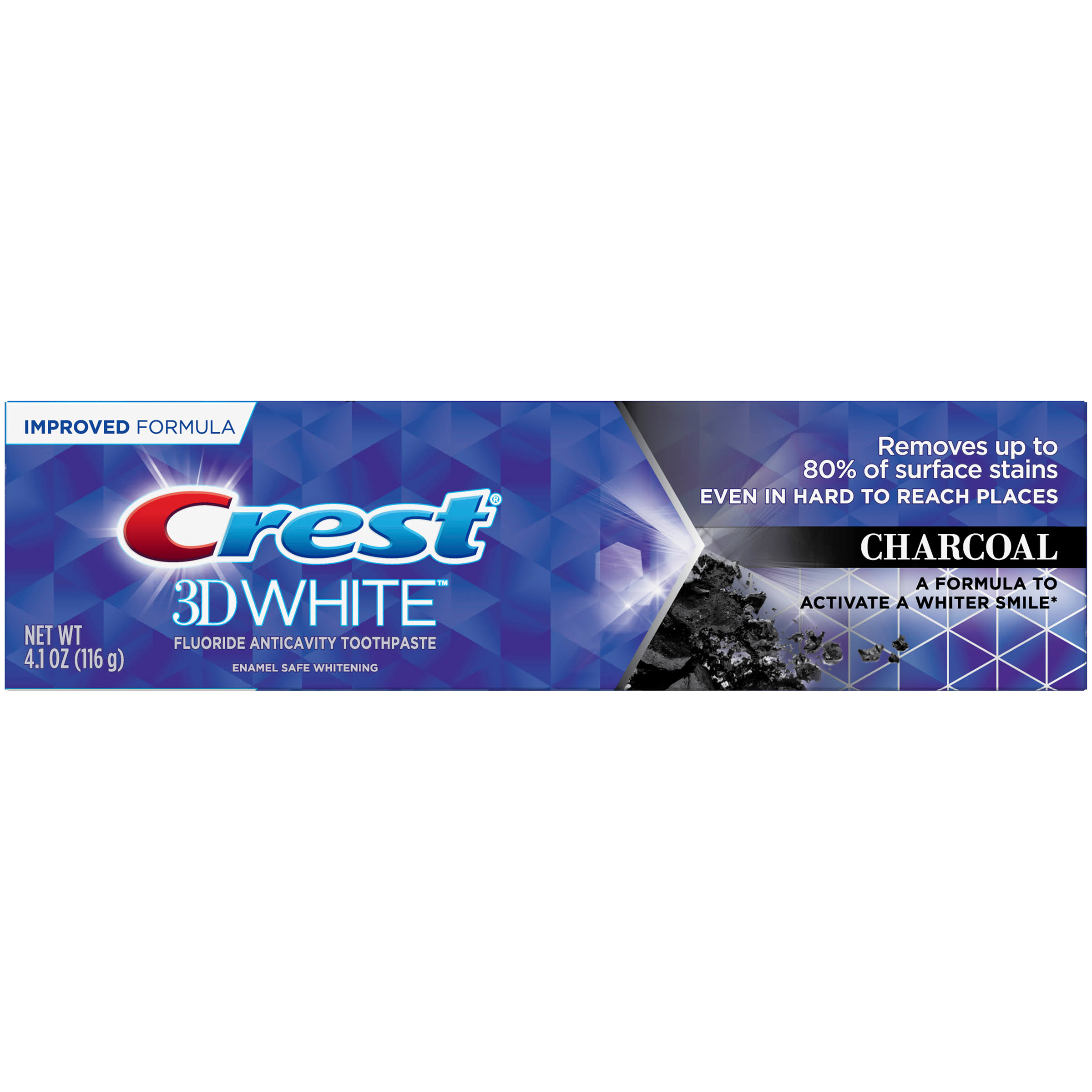 Crest 3D White Whitening Toothpaste - Charcoal, 4.1oz