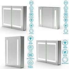 led spiegelschrank 50x70 60x80 80x60 mit beleuchtung