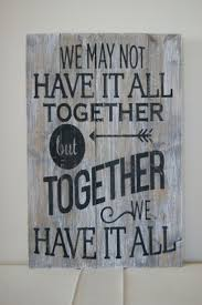 Wood Quote Sign Pallet Art