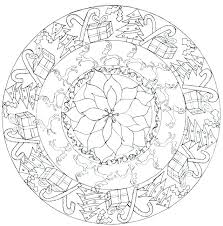 Complex Mandala Coloring Pages Color Adult