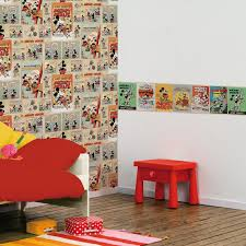 Minnie Mouse Bedroom Decor South Africa by Disney Mickey U0026 Minnie Mouse Wallpapers And Borders Kids Bedroom