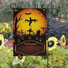 Halloween Celebration Decor Wamika Halloween Garden Flags 12 X 18