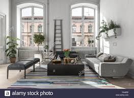 wohnzimmer einrichtung modern rustikal caseconrad