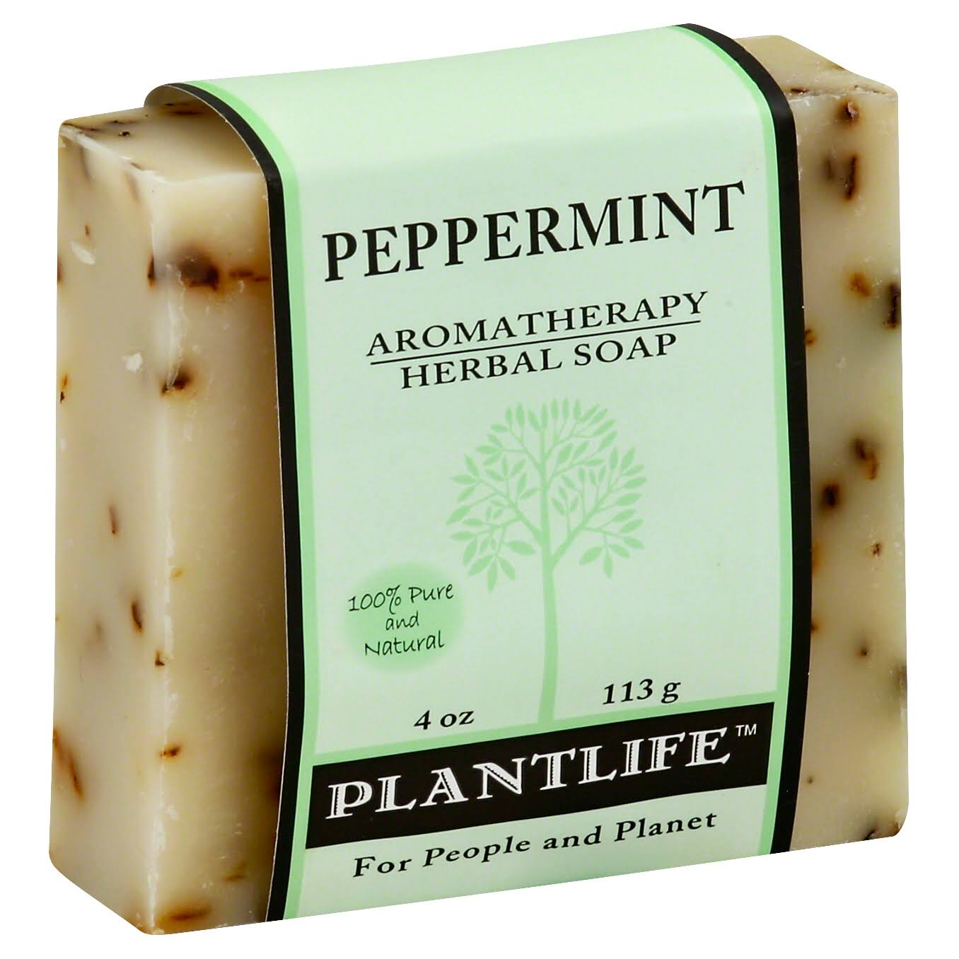 Plantlife Aromatherapy Herbal Soap - Peppermint, 4oz