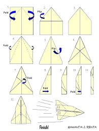 Make Paper Airplane Plane How To Designs For Distance And Speed