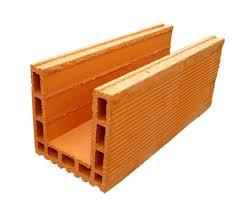 coffre demi linteau terreal linteau rectifié brique de mur bgv de bouyer leroux l 570 mm l