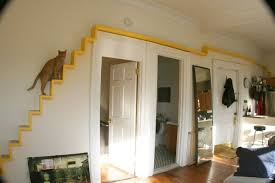 cat stairs diy cat staircase wall petdiys