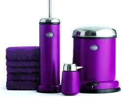 best purple bathroom accessories ideas furniture modern bathrooms