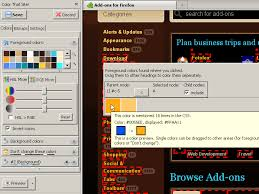 Color That Site Add Ons For Firefox