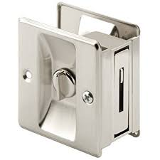 Prime Line Products N 7239 Pocket Door Privacy Lock with Pull