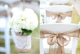 Burlap Wedding Decorations Diy Decoration Idea Australia And Lace